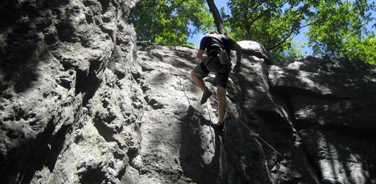 Climbing header
