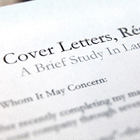 Cover Letters, Résumés, and Interviews