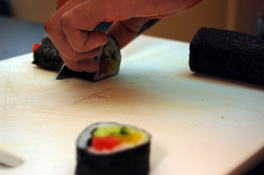 Cutting the Sushi