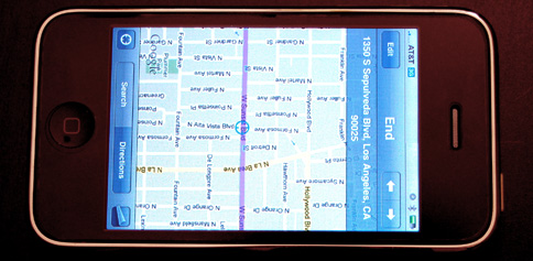 iPhone maps