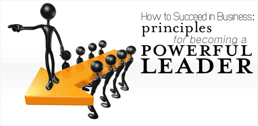 How to Succeed in Business: Principles for Becoming a Powerful Leader