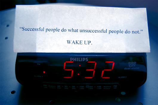 early riser clock