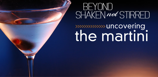 beyond  u0026quot shaken  not stirred u0026quot   uncovering the martini