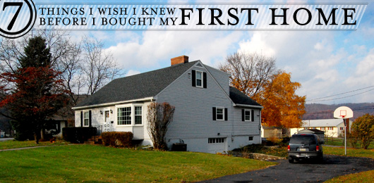 7 Things I Wish I Knew Before I Bought My First Home