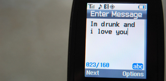 Text Message love