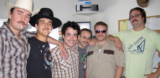 Mustache Contendors