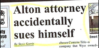 Lawyer Sues