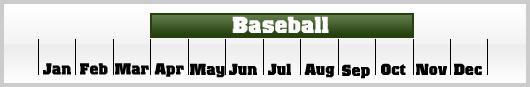 Baseball calendar