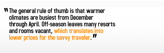 Article quote - translates into lower prices for the savvy traveler
