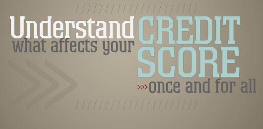 Understand What Affects Your Credit Score Once and for All