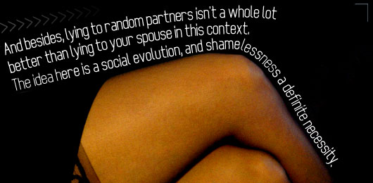 Leg with article quote - social evolution