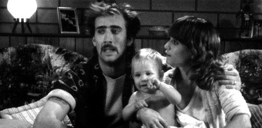 Nicolas Cage in Raising Arizona
