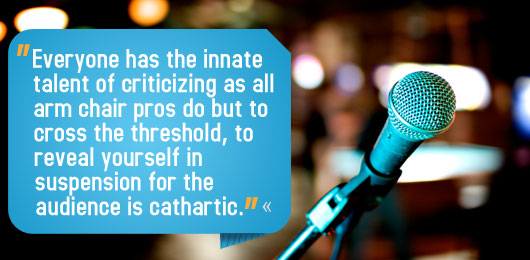 Article text - everyone has the innate talent of criticizing