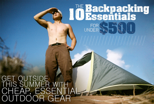 10 backpack essentials for under 500
