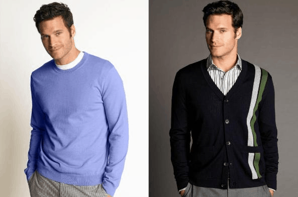 The elements that separate the business casual from the smart casual attire