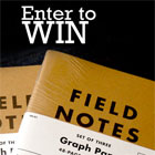 Enter to Win 'The Kit' From Field Notes and Make Your Own Field Guide to Life