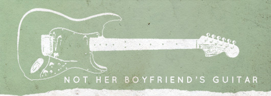 Not her boyfriends guitar