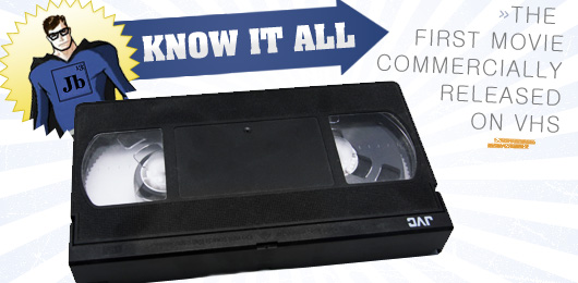 Know It All: The First Movie Commercially Released on VHS