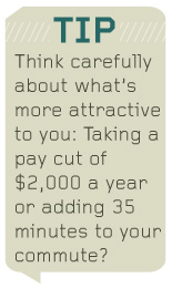 Text - think carefully about whats more attractive to you