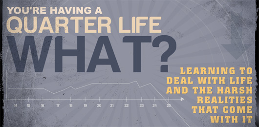 You're Having a Quarter Life What? Learning To Deal With Life And The Harsh Realities That Come With It