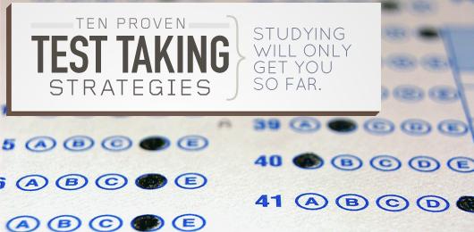 10 Proven Test Taking Strategies