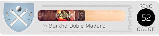 Gurkha doble cigar