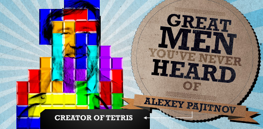 Great Men You've Never Heard Of: Alexey Pajitnov, Creator of Tetris