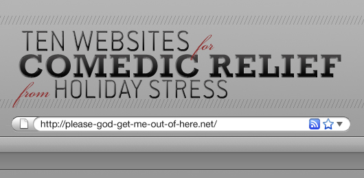 10 Websites for Comedic Relief from Holiday Stress