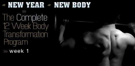 A New Year, a New Body: The Complete 12 Week Body Transformation Program