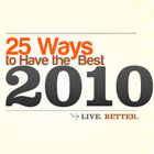 25 Ways to Have the Best 2010