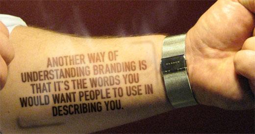 Article text - another way of understanding branding