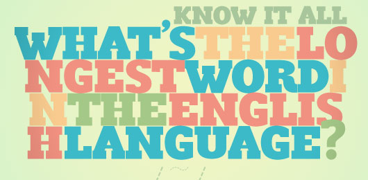 Know It All: What's the Longest Word in the English Language?