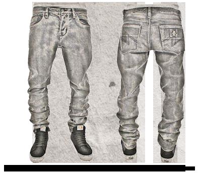 Embellishment on jeans
