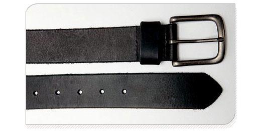A close up of a belt
