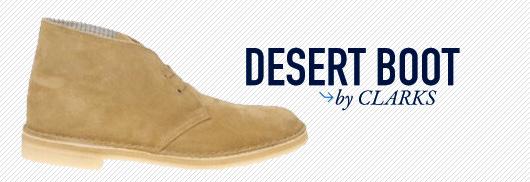 Desert boot by clarks