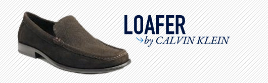 Loafer by Calvin Klein