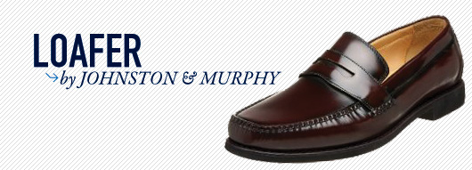 Johnston and murphy loafer