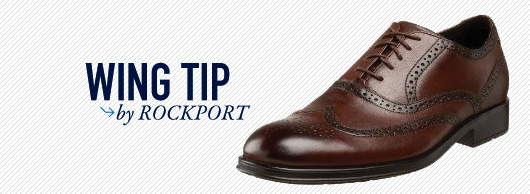 Wing tip by rockport