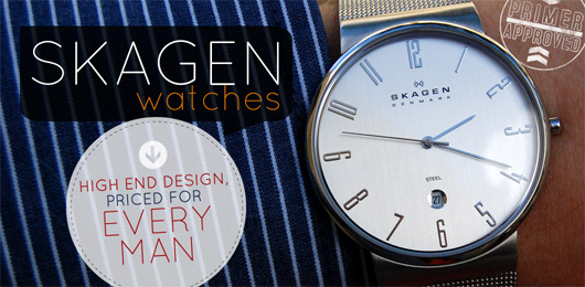 Skagen Watches:  High End Design, Priced for Every Man