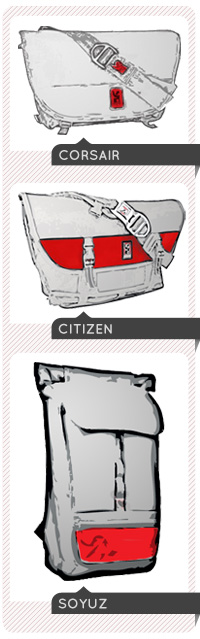 Messenger bags by Chrome