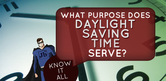 purpose of daylight saving time