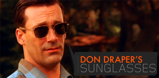 Don Draper's Sunglasses