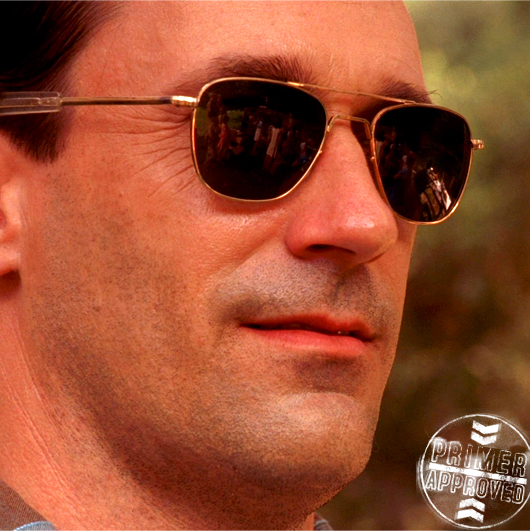 Don Draper's Sunglasses on Mad Men