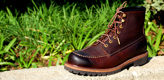 A pair of boots by frye
