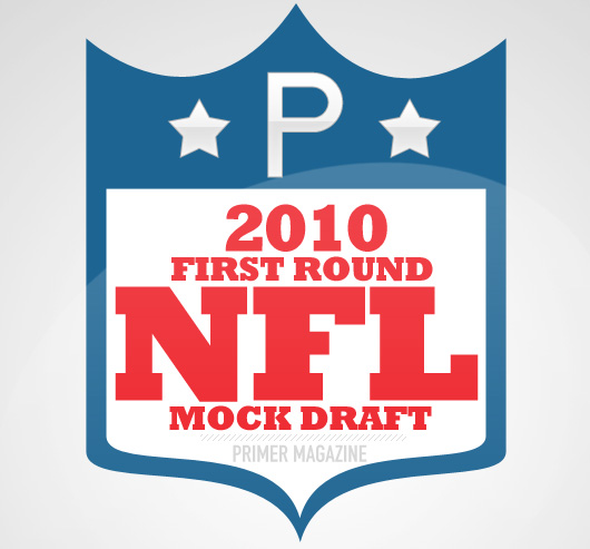 2010 First Round NFL Mock Draft