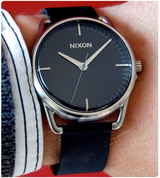 Nixon black watch