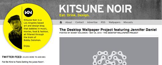 Kitsune Noir screenshot