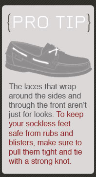 The laces that wrap around the sides arent just for looks