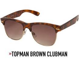 A close up of sunglasses, by topman