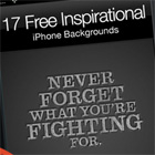 17 Free Inspirational iPhone Backgrounds